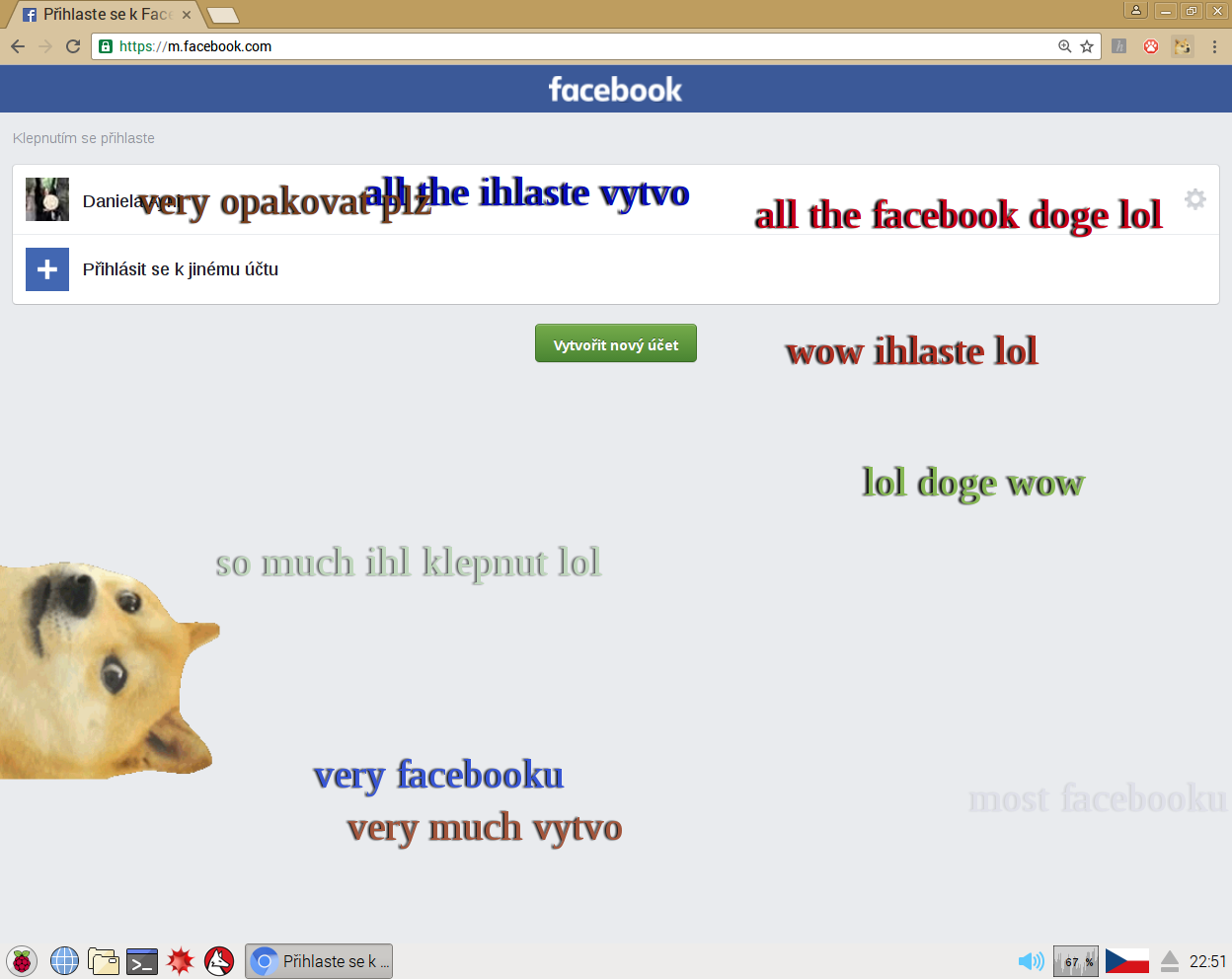 So doge, much cool, such spam